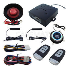 Stock In USA New PKE Car Alarm With Car Engine Push Button Remote Start Engine