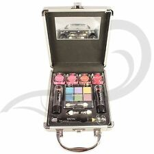Technic Small Beauty Case With Cosmetics Aluminium Box Make-Up Filled Gift Set