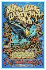 "VINTAGE DISNEY 20000 LEAGUES UNDER THE SEA - DISNEY WORLD POSTER 8.5"" x 11"""