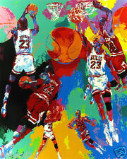 Michael Jordan/8x10 inch Mini Poster/Print/ Pop Art/Basketball