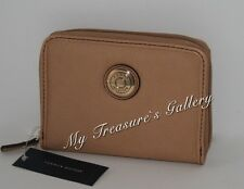 New Tommy Hilfiger TH Logo Wallet Checkbook Coin Bag Zip Around NWT
