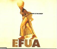 EFUA Down is the Drop /Champagne 3 RARE MIXES Europe CD single SEALED USA Seller
