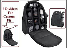 Photo/Video Padded Deluxe Camera Backpack Case For Panasonic Lumix DMC-GH4