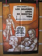 A1087  LOS MEJORES AÑOS DE NUESTRA VIDA. MYRNA LOY, FREDRIC MARCH