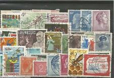 Lot  timbres du Luxembourg