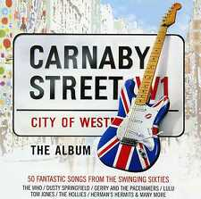 CARNABY STREET WHO SEARCHERS ANIMALS CILLA HOLLIES MANFRED MANN - 2 CDS - NEW!!