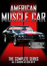American Muscle Car Complete Series DVD Set TV Season 1-3 Collection Episode GTO