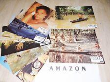 8 Photos Cinéma 24x30cm (1990) AMAZON Rae Dawn Chong, Robert Davi NEUVE