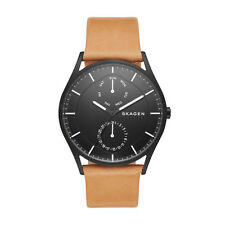 Skagen Men's Holst Multifunction Leather Watch SKW6265