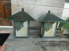 2 Arroyo Craftsman Solid Copper Outdoor Wall Light  Arts & crafts