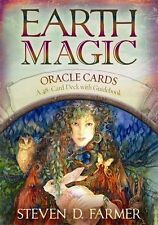 Sealed Earth Magic Oracle Tarot cards 48 card Deck, Occult Magic, Steven Farmer