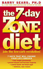 The 7-day Zone Diet: Join the Low-carb Revolution!