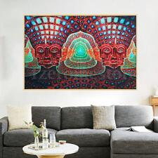 Psychedelic Trippy Art Silk Cloth Poster 36 x 24'' NEW