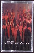 Los Angeles Voices Of Watts-Power LP CASSETTE GOSPEL SEALED OOP