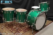 New Ludwig Classic Maple 5pc drum set/ Green Sparkle