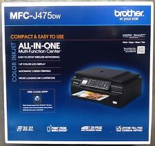 Brother MFC-J475DW All-In-One Wireless Duplex Inkjet Printer (Same  MFC-J470DW)