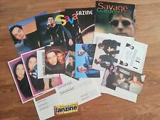 SAVAGE GARDEN POSTER STICKERS POSTCARDS DARREN HAYES AUSTRALIAN POP DUO