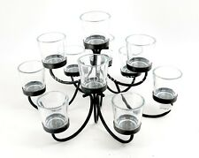 NEW Yankee Candle Multi 11 Candle Candelabra Black Holder