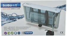 Hi fish aquarium SOBO 508h Slim Hang on external Power Filter fresh marine water