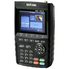 SATLINK WS 6916 HD Mesureur de Champ Satellite DVB-S2 Pointeur Satfinder