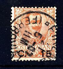 ITALIA - Regno - 1901 - Effigie di Vittorio Emanuele III° - 20 c. arancio