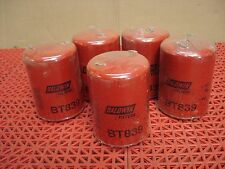 Lot of 5 Baldwin Hydraulic Spin On Filters BT839 Sealed  NEW