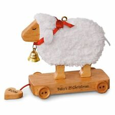Hallmark 2016 Little Lamb Baby's First Christmas Ornament