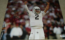 Johnny Manziel Signed Texas A&M 11x14 Photo PSA/DNA COA