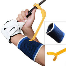 Golf Swing Trainer Practice Angle Upgrade Training Aid Correct+Wrist Protection