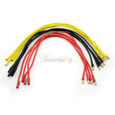 12Pcs 3.5mm Bullet Connector 30cm Motor to ESC Extension Cable