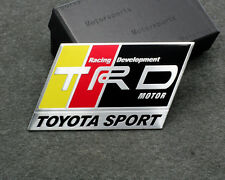 Car Sticker Decal Emblem Badge TRD Logo Styling Accessories for Toyota Corolla