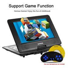 """10.1"""" inch Portable DVD Player Swivel TFT Screen 3D TV, Radio, Game SD USB AV CD"""