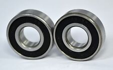 "6202-10-2RS  6202-5/8-2RS  Premium Sealed Ball Bearing,  5/8"" Bore (Qty. 2)"