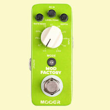 MOOER Mod Factory Modulation Effect Pedal Mod Factory -FREE SHIPPING TO AU