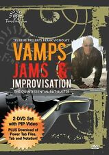 Frank Vignola Vamps Jams Improvisations Rut-Buster Learn Play Guitar Music DVD