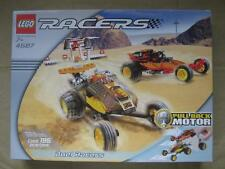 Vintage LEGO Racers DUEL RACERS Set of 2 Pull Back Offroader Toy Cars