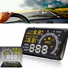 "5.5"" Car HUD Head Up Display OBD 2 Life Time Scan Information Tool on Windscreen"