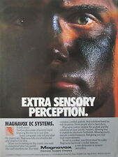 4-9/1989 PUB MAGNAVOX ELECTRONIC SYSTEMS ELECTRONIC WARFARE EC SYSTEMS AD