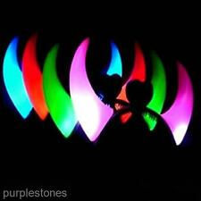 Colorful LED Flashing Devil Bull Headband Lovely Party Headwear Horn Accessories