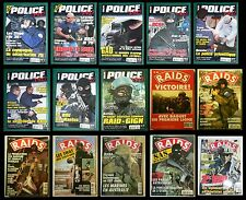 C 1 (One) x French magazine RAIDS (military) or POLICE PRO / Revue française H&C