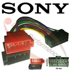 SONY Radio Adapter Kabel Stecker ISO Auto CDX CD XR XT MD MDX MEX WX XAV XPLOD