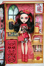 "Ever After High Bambola Lizzie Hearts ""PRIMAVERA FISSO"" Spring unsprung doll"