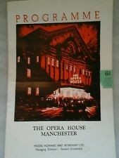 Theatre Programme.  The gay dog. Opera House. Manchester. 1952. Megs Jenkins.