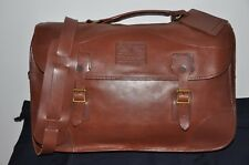 Ralph Lauren Full Leather Shoulder Messenger Bag