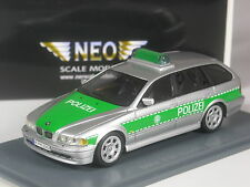 selten: Neo Scale Models BMW 525i touring Polizei 1:43 in OVP