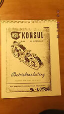 NSU Konsul Operations Manual in German 00504  [3-21-5]