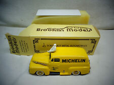 Rare Brooklin Models Die cast BRK 42X 1952 Panel Delivery Michelin 1:43 Scale