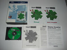 THEME HOSPITAL Pc Cd Rom Classics BIG BOX - FAST POST