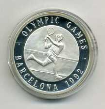 Medalla Olympic Games Barcelona 1992 tenis plata m_883