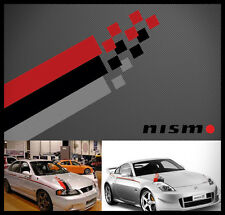 Nismo hood decal sticker hood kit #1 brand new UNIVERSAL KIT